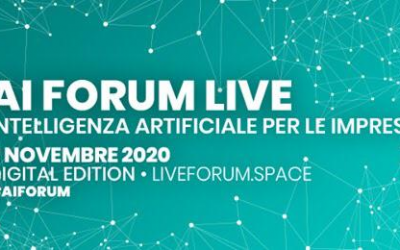 AppY Lab protagonista all'AI Forum Live